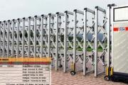 ประตูเลื่อนพับอัตโนมัติ Folding gate CM-HX02S