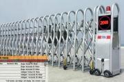 ประตูเลื่อนพับอัตโนมัติ Folding gate CM YX02G